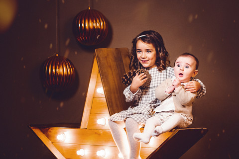 Valeria, Marco y Rocco. Christmas Session