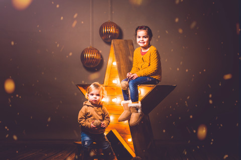 Noa y Erik. Christmas Session.